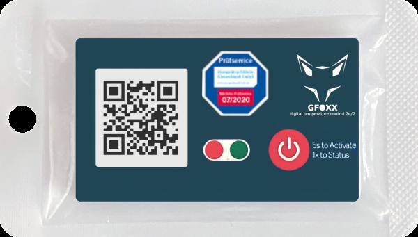 1-Punkt zertifizierter GFOXX digital temperature control 24/7